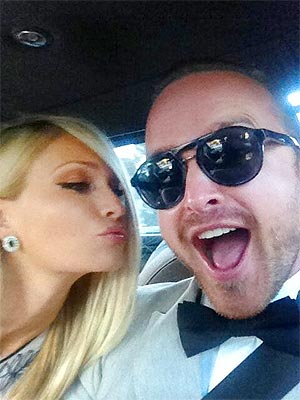 Aaron Paul, Lauren Parsekian Get Ready to Wed