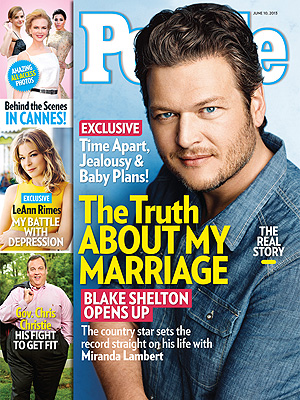 Blake Shelton: The Truth About My Marriage