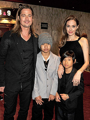 Brad Pitt, Angelina Jolie Keep 'No Secrets' from Kids