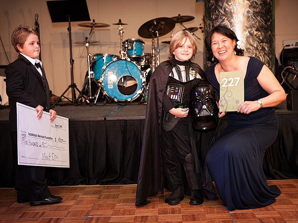 Little Darth Vader Helps Raise Money for Kids in Need