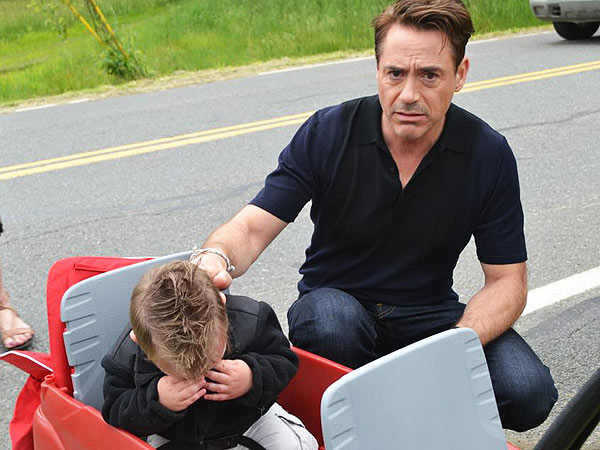 Robert Downey Jr. and Young Fan 'Iron' Out Their Differences