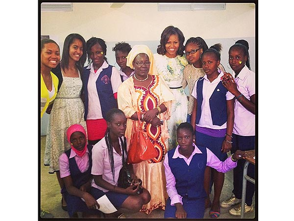 Michelle Obama & White House Join Instagram