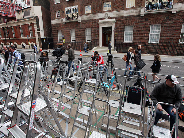 Kate's Maternity Wing: Royal Baby Buzz Building Outside St. Mary's Lindo Wing