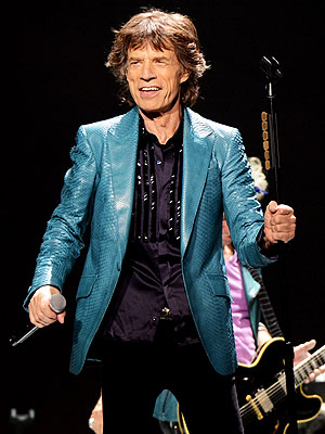 Mick Jagger's Hair Goes to the Charity Changing Faces