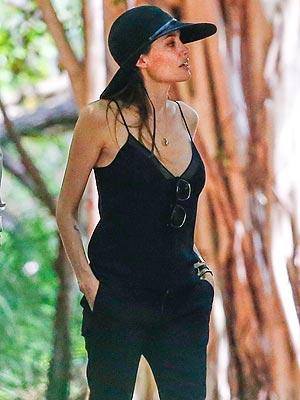 Angelina Jolie Photographed in Hawaii