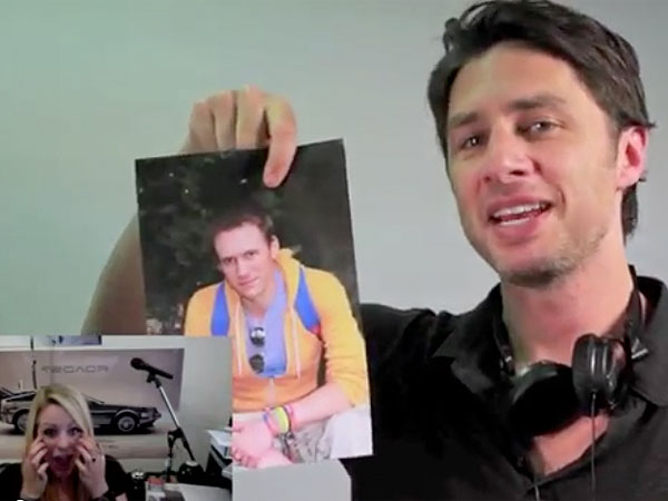Zach Braff Helps Matt Hulbert Propose to His Girlfriend Janice