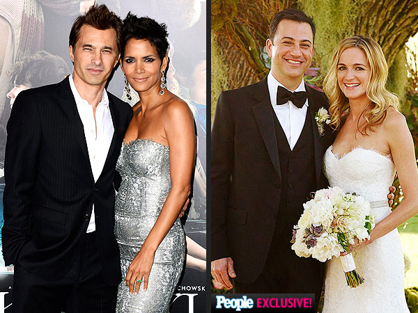 Wedding Weekend: Halle Berry & Olivier Martinez; Jimmy Kimmel & Molly McNearney Are Married