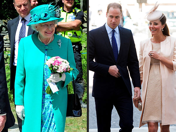 Queen Elizabeth Hopes the Royal Baby Arrives Before Her Holiday