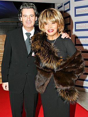 Tina Turner Celebrates Marriage to Erwin Bach