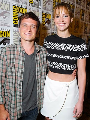 Catching Fire Trailer: Jennifer Lawrence Talks Cast Parties at Comic Con 2013