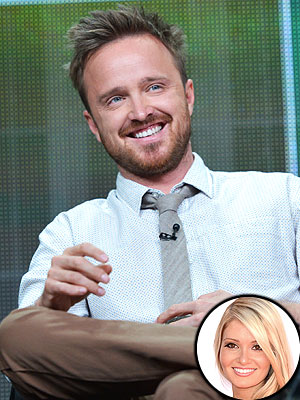 Aaron Paul Is Enjoying Newlywed Life