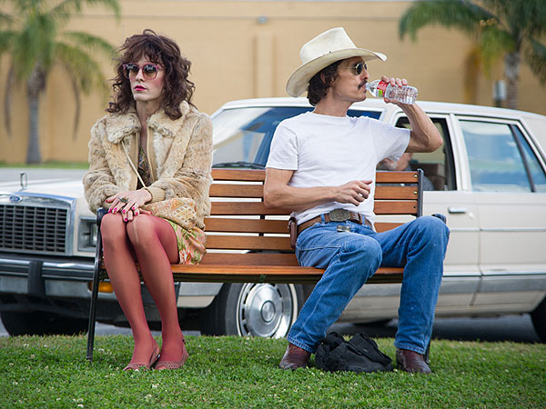 First Look: Matthew McConaughey and Jared Leto's Extreme Movie Makeovers