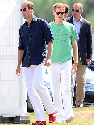 Prince William 'In Baby Mode' During Polo Match