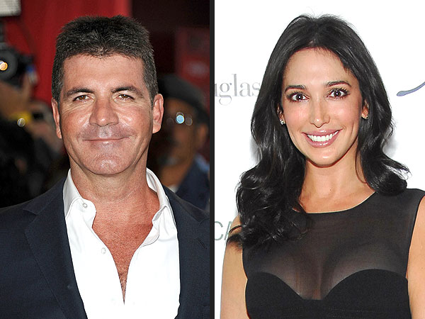 Simon Cowell Reunites with Lauren Silverman