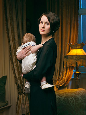 Downton Abbey: Lady Mary Faces Widowhood, But Not Alone