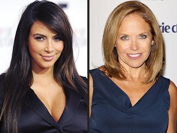 Kim Kardashian Blasts Katie Couric as a 'Fake Media Friend'