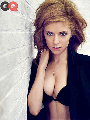Anna Kendrick Strips Down to a Bra for GQ