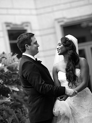 Isha Sesay Marries Leif Coorlim