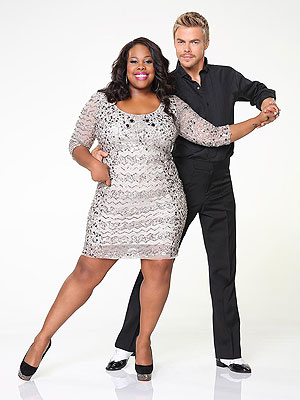 Dancing with the Stars' Amber Riley Is Pushing Her Limits