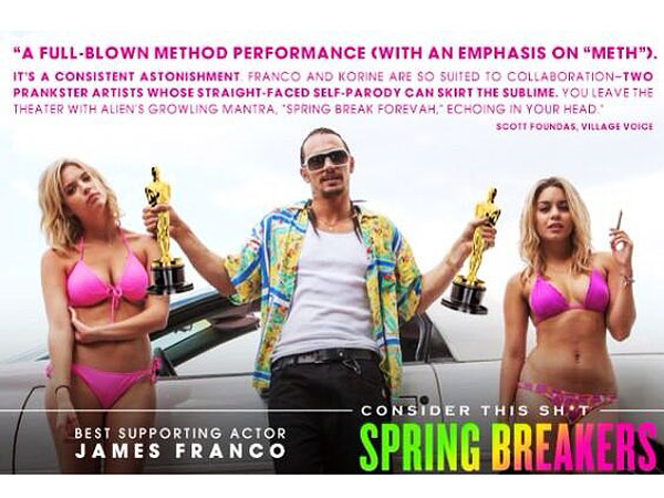 James Franco Stars in Amusingly Crude 'For Your Consideration' Oscars Ad