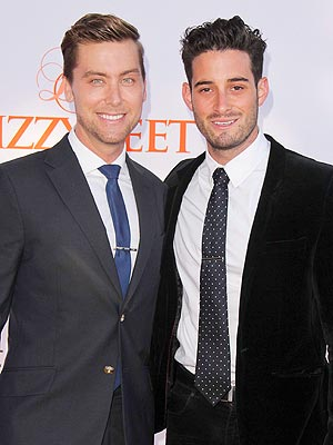 Lance Bass Surprised Michael Turchin with Proposal in New Orleans