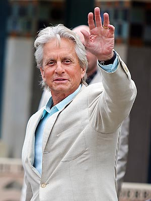 Michael Douglas Says 'Things Are Great'