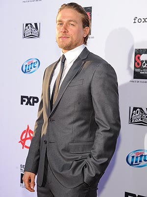 Charlie Hunnam Serves as Best Man at Friend's Wedding