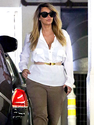 Kim Kardashian Reveals Her New Mom Style in Beverly Hills