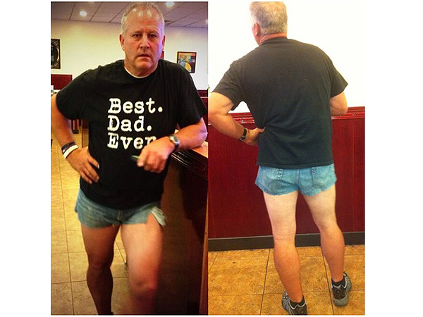 Utah Dad Wears Short-Shorts to Shame His Teen Daughter