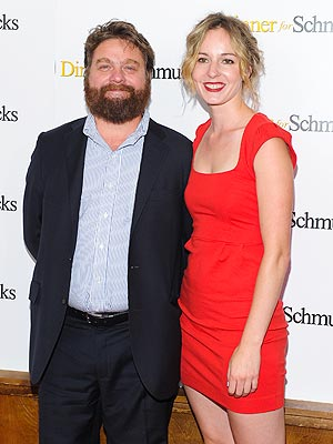 Zach Galifianakis Skips Movie Premiere as Wife Goes into Labor