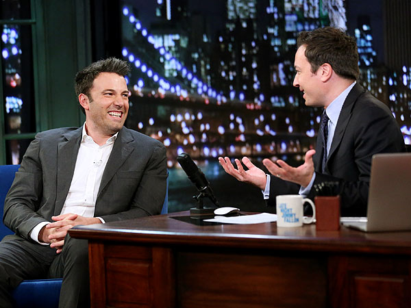Ben Affleck Jokes with Jimmy Fallon about Batman Uproar