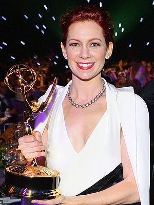 Carrie Preston did win an emmy