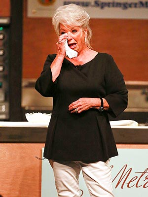 Paula Deen Cries 'Tears of Joy' at First Post-Scandal Appearance