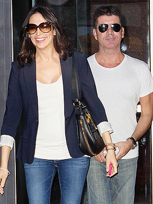 Simon Cowell: I'll Have a 'Smoking Room' When the Baby Arrives