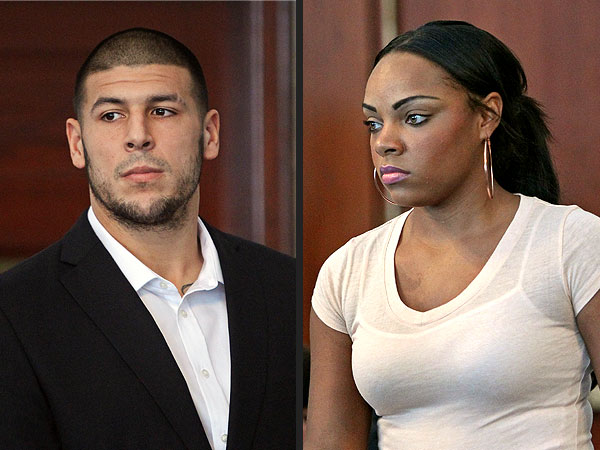 Aaron Hernandez Girlfriend Indicted as Accessory to Murder
