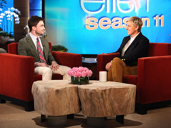 Daniel Radcliffe Does a Lot of Nude Scenes, but Says He Doesn't Request Them