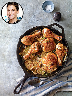 Jessica Seinfeld's Skillet Chicken As Seen in PEOPLE