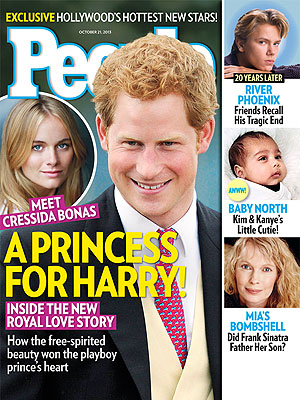Prince Harry and Cressida Bonas: It's 'Very Serious'
