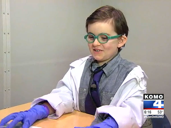 Seattle Boy, 7, Dresses Up for Halloween as the Doctor Who Saved His Hearing