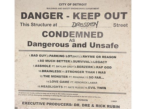 Eminem Unveils Tracklist for Marshall Mathers LP 2 Featuring Rihanna, Kendrick Lamar
