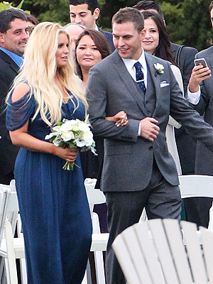 Jessica Simpson Bridesmaid Photo