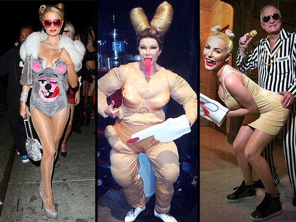 Miley Cyrus Halloween Costume: Paris Hilton, Crystal Harris, Kelly Ripa