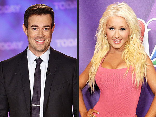 The Voice: Carson Daly to Christina Aguilera: I'm Glad You 'Kept Your Boobs'