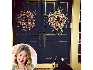 PHOTO: Hilary Duff's Son Photobombs Her Dog