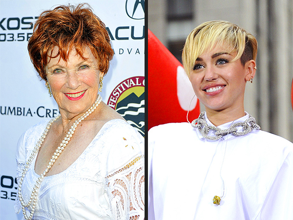 Happy Days' Marion Ross to Miley Cyrus: 'It's Dangerous Out There'
