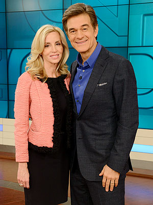 Camille Grammer Tells Dr. Oz: 'I'm Feeling Great' After Cancer Scare and Alleged Abuse