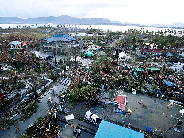 Philippines Typhoon: Celebs React on Twitter to Massive Devastation
