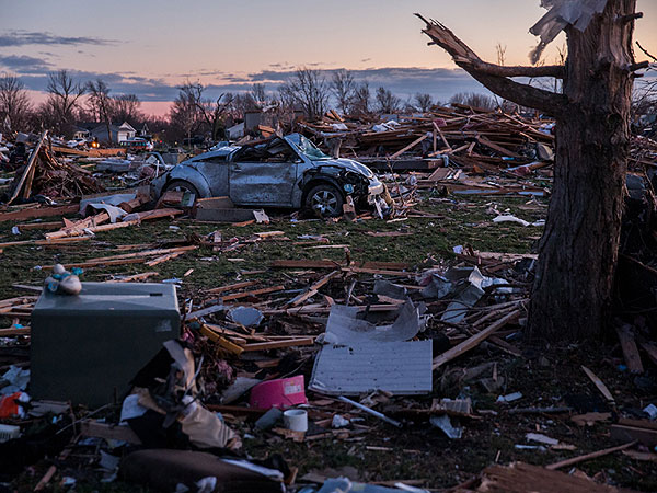 Midwest Tornado Victims Find Precious Belongings Miles Away