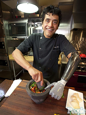 How Eduardo Garcia Became a Bionic Chef