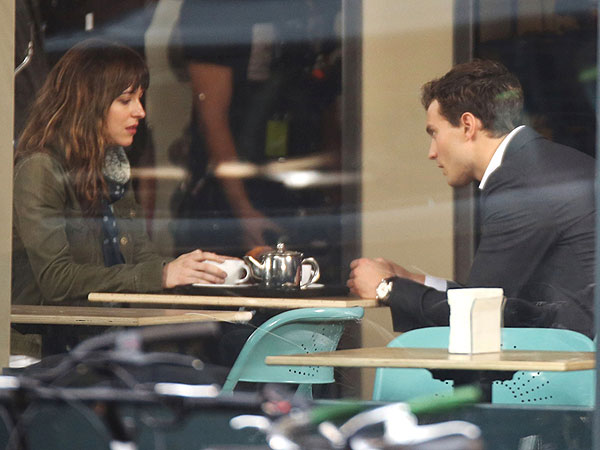 Fifty Shades of Grey: Inside the First Scene to Shoot